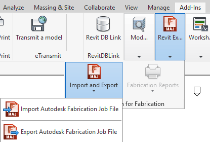 Import/Export Autodesk Fabrication Parts from Revit - BIM there